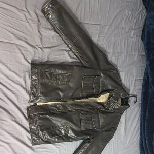 Levi's Leather jacket, with authentic leather.